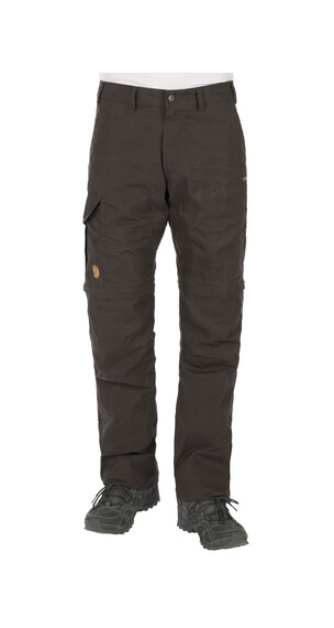Fjällräven Karl Zip-Off Trousers Men Dark Grey